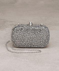 evening bag with gemstone Latest Handbags, Purses And Handbags, Pronovias, Messenger Bag Backpack, Bridal Clutch, Wedding Bag, Party Bags, Evening Bags, Bag Accessories