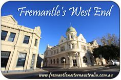 Guide to Fremantle's West End including a map and resources for visiting the West End while on holiday in Fremantle, Western Australia. Maritime Museum, Tourist Information, My Land, West End, Western Australia, Fishing Boats, Night Life, Travel Guide, Taj Mahal