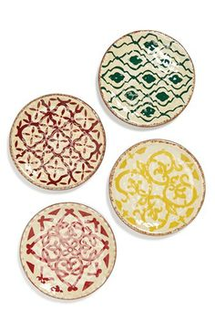 Gibson Dessert Plates (Set of 4) available at #Nordstrom  LOVE these!!