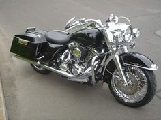 Want to see some Road King with Beach Bars! - Harley Davidson Forums