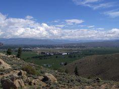 The Gunnison valley seen from Hartman Rocks - Gunnison, CO.