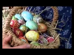 ▶ Beautiful and traditional patterned Easter eggs of Dissen - YouTube