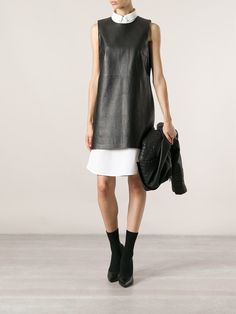 Theory Classic Shift Dress - Jofré - Farfetch.com