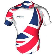 UK Theme Rugby Shirt