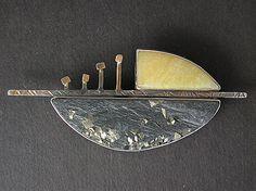 9419 - Four Vikings on the sea by judy hoch ~ 1 x 2 Enamel Jewelry, Metal Jewelry, Pendant Jewelry, Jewelry Art, Antique Jewelry, Silver Jewelry, Jewelry Design, Contemporary Jewellery, Modern Jewelry
