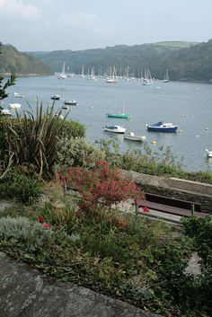 Fowey,  a port at the mouth of the River Fowey in south Cornwall, South West England, UK