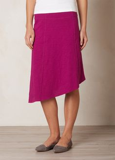 Jacinta skirt @ prana in richfuchsia