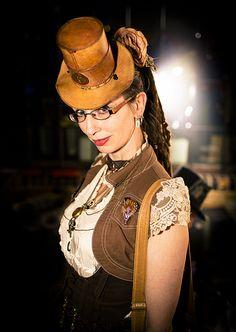 Miss D (steampunk lady)
