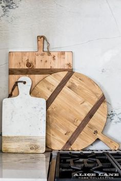 The Addy Cheese Board is the perfect gift for a hostess or charcuterie enthusiast. Get hung up on cheese with this sleek marble and wood server, complete with a natural leather strap