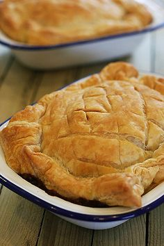 Steak, Cheddar and Guinness Pie
