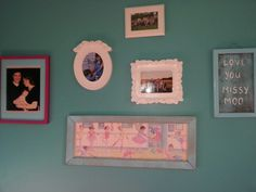 The beginnings of a Gallery Wall for my girly