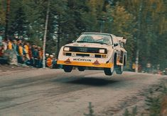 Rallying: The Best Motorsport In The World - Sideways Forever! Audi Sport, Sport Cars, Race Cars, Wheel In The Sky, Colin Mcrae, Street Racing Cars, Lancia Delta, Rally Car, Rally Drivers