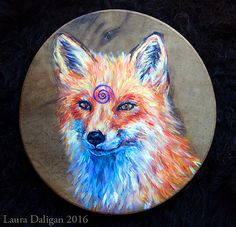 A Gallery of Hand Painted Shamanic Drum Art