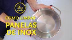 Veja como limpar panelas de inox utilizando limão - ele remove as marcas de água sem esforço. Parece mágica. Flávia Ferrari mostra o passo a passo detalhado de como fazer nesta postagem.