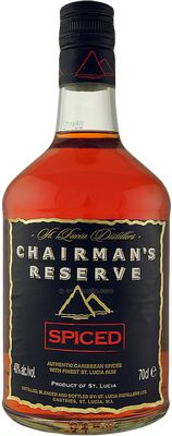 Number 5 top spiced rum 2014 from RumRatings: Chairman's Reserve Spiced Rum - http://www.rumratings.com/brands/189-chairman-s-reserve-spiced-rum