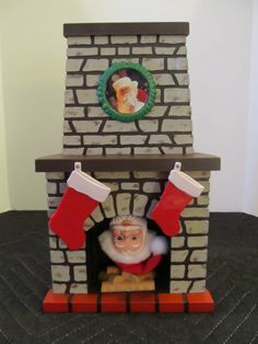 Santa Coming Down The Chimney, Motionette.