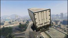 GTA 5 – Semi Truck Stunt Jump