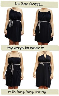 Mi DIY: Le sac Dress