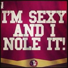 Love this!  Go Noles.