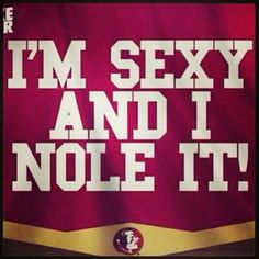I'm sexy and I NOLE it!