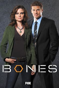 Bones & Booth all time favorite show! Love these guys!!