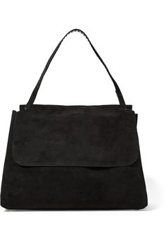 Black suede (Calf) Flap front Comes with dust bag Weighs approximately  3.3lbs  4f50c45a33eb