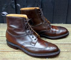 Ralph Lauren Shell Cordovan Boots (so timelessly classic). #shoes #boots #menswear #fashion