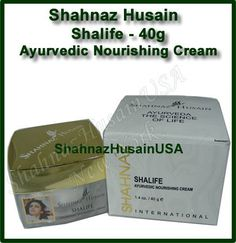 Shalife Skin Nourishing Cream - Ayurvedic Herbal Cream by Shahnaz Husain. $5.34. anti aging. moisturizing. A luxurious night cream, which helps the skin look younger. It slows down the look of ageing . It also helps to moisturize and refresh dull, dry skin, reducing the appearance of age spots and skin blotches. Works as an efficient emollient. Shahnaz Husain product line is based on India's holistic healing tradition of Ayurveda. Every product contains precious herbs, fr...