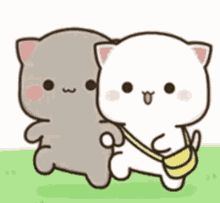 Annoyed Gif, Gif Lindos, Chibi Cat, Gifs, Perfect Peach, Cute Love Gif, Cat Stickers, Cute Images, Animated Gif
