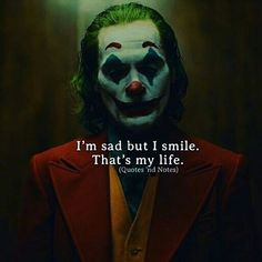Joker Quotes Life Are many movie scenes familiar? Let's take a look 10 Joker Quotes Will Stick With Us Forever! Joker Love Quotes, Joker Qoutes, Joker Frases, Badass Quotes, Batman Joker Quotes, Awesome Quotes, Der Joker, Joker Art, Reality Quotes