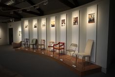 The chairs collection at the Geffrey Museum. A Museum to discover! Often part of our East end private tours.