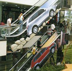 Hyundai Escalator Advertisement http://www.jonhallhyundai.com/HomePage