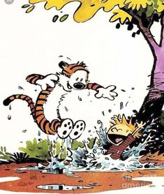 Calvin Y Hobbes, Calvin And Hobbes Quotes, Snoopy Charlie, Charlie Brown, William Boyd, Calvin And Hobbes Wallpaper, Nerd, Art Populaire, Online Comics