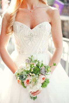 25 onvergetelijke bruidsboeketten