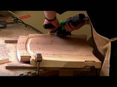 Sculpting a Maloof Chair Seat - by Scott Morrison woodworker