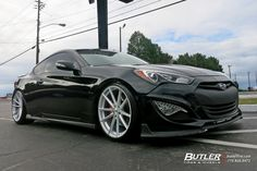 Hyundai Genesis Coupe with 20in TSW Bathurst Wheels