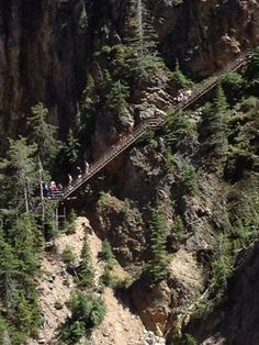 Uncle Tom's Trail, Yellowstone - Wyoming Trails | AllTrails.com