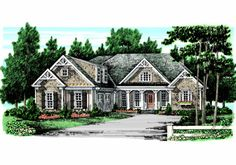 The CAMDEN LAKE House Plans First Floor Plan - House Plans by Designs Direct.
