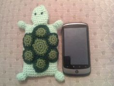 Turtle Phone cover - Free pattern