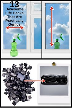 So as to comprehend which side of a window isn't perfect enough, wash the window inside the house with flat moves and outside the house with vertical moves.