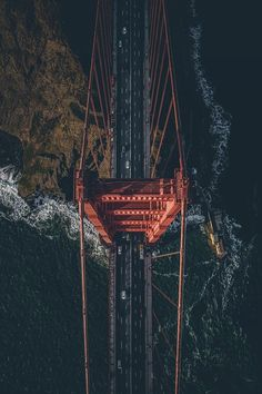 Over the Golden Gate Bridge (Top View San Francisco) San Francisco City, San Francisco California, Aerial Photography, Landscape Photography, Jolie Photo, Death Valley, Birds Eye View, Golden Gate Bridge, Wonders Of The World