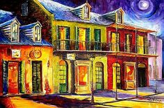 Moon Over New Orleans - SOLD