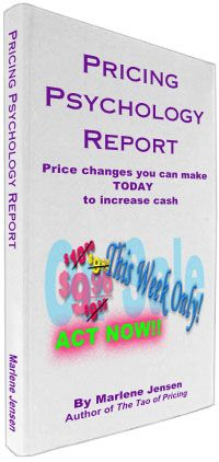 Intelligence you can use TODAY - to increase profits How to change your price by a couple of pennies - and get 10-20% MORE ORDERS!