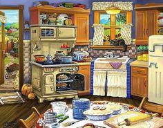 Love this kitchen, I ll take it.