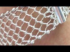 Wire Work, Make It Yourself, Bracelets, Silver, Handmade, Youtube, Jewelry, Karma, Hand Art