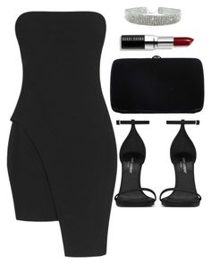 """Untitled #4204"" by lilaclynn ❤ liked on Polyvore featuring Elizabeth and James, Yves Saint Laurent, Sergio Rossi, Bobbi Brown Cosmetics, YSL, saintlaurent and yvessaintlaurent"