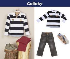 El estilo perfecto para tu hijo :)
