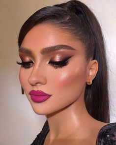 Fancy Makeup, Creative Makeup Looks, Makeup Eye Looks, Eye Makeup Art, Gorgeous Makeup, Pretty Makeup, Eyeshadow Makeup, Smokey Eye Makeup, Makeup Cosmetics