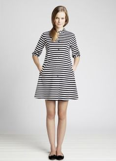 Kaste Striped Tunic Classic Black/White for Women by Marimekko Marimekko Dress, Dress Skirt, Shirt Dress, Tunic Dresses, Stripped Dress, Retro Dress, Fashion Plates, Style Me, Sweet Style