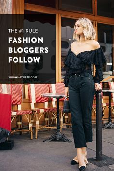 Fashion bloggers agree—this is the one outfit that looks good on everyone.